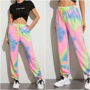 CATHERINE Tie Dye Jogger Pants